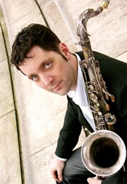 saxophonist Andy Scott